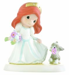 """Amazon.com - Precious Moments Disney """"You Will Be Forever A Part Of My World"""" Figurine"""
