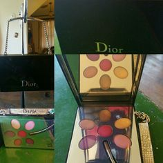 Cosmetics Limited Edition Christian Dior lipstick and lipgloss compact. Christian Dior Makeup Lipstick