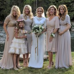 Donny's wife, granddaughter and 4 daughters - in-laws.