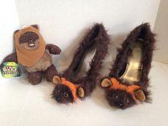 These Custom Ewok High Heels are Cute and Furry. Yub Yub! [Pic]