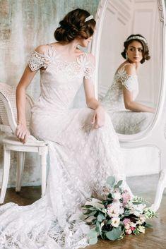 Изящность, утонченность, грация и, конечно, красота - все это составляющие образа балерины. Всегда очаровательная, в роли невесты она расцветает еще больше.
