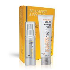 Rejuvenate & Protect - Antioxidant Daily Face Protectant Bundle