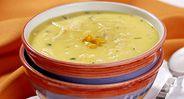 Sopa Cremosa de Milho com Frango