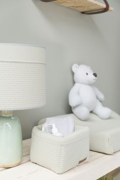 Babyroom - Nursery - Babykamer - Interior design - Pastel - Changingtable - Commode