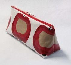 tutoriel trousse en tissu avec gabarit et explications 6 étapes