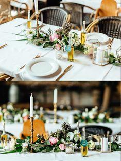 Unsere goldene Hochzeitsdeko in der Scheune - The Kaisers