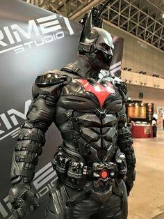 Batman Beyond cosplay Batman Armor, Im Batman, Batman Arkham, Spiderman, Real Batman Suit, Superman Hero, Dc Comics, Heros Comics, Comic Superheroes