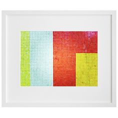 I pinned this Colorblocked Framed Print from the Pip & Estella event at Joss and Main!