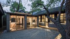 Gridded bamboo framework partitions Beijing office by 0 Architecture
