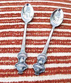 Rolex Souvenir Spoons Rolex Lucerne Spoons Two by mybonvivant
