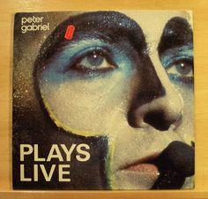 PETER GABRIEL - Plays Live - Vinyl 2-LP Solsbury Hill Shock the Monkey Biko RARE