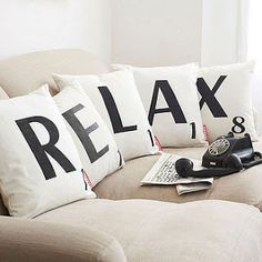 RELAX pillows - cute