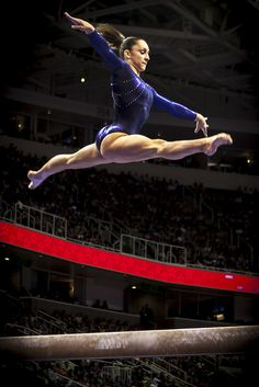 Jordan Weiber has a 180% degree leap! Its unbelievable. She has probably been practicing for a long time though.