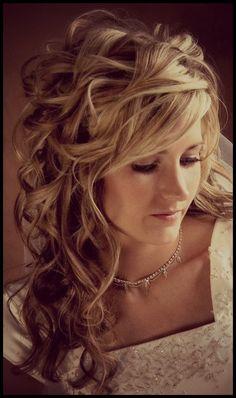 Wedding hairstyle #1.