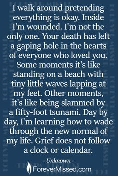 🕯 Create an Online Memorial - Grief and Loss Quotes - Miss Mom, Miss You Dad, Mom Quotes, True Quotes, Death Quotes, Grief Poems, Grieving Mother, Grieving Quotes, Heaven Quotes