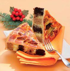Hungarian Christmas Cake or Beigli Torta (recipe is in Hungarian) My Recipes, Baking Recipes, Cake Recipes, Dessert Recipes, Hungarian Recipes, Russian Recipes, Hungarian Food, Torta Recipe, Creative Food