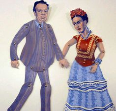 Frida & Diego Sculture