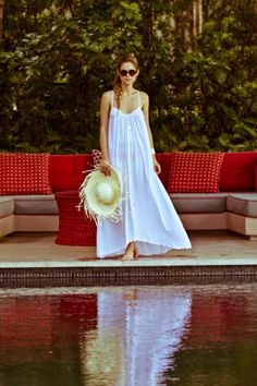 perfect maxi for a fun day at the beach or a cool night out in Hawaii