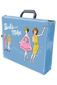 This brings back memories!   Barbie™ and Midge™ Double Doll Case | Barbie Collector