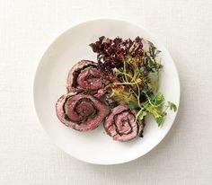 Spinach-Stuffed Steak Roulades