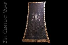 1920s Gold Assuit Shawl. Egyptomania. Art Deco. by 21stCenturyVamp