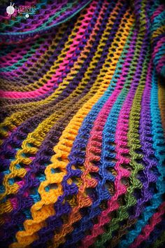 Ravelry: Marion1978's Irish Sea Blanket