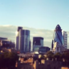 The Gherkin in London, Greater London