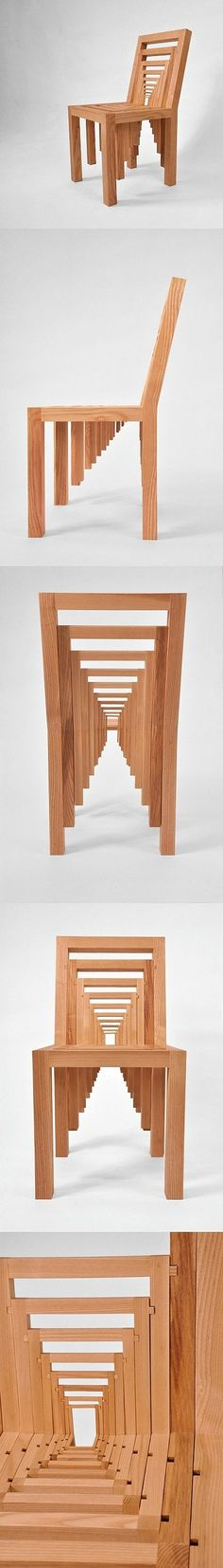 The infinite chair...Crazy but great. http://themetapicture.com/the-infinite-chair/