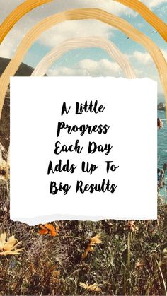A little process each day adds up to big results dailyinspiration dailymotivation habits progressisperfection motivationalquotes successquotes mindsetquotes motivationmonday 222787512804506235 Words Quotes, Me Quotes, Motivational Quotes, Inspirational Quotes, Sayings, Qoutes, The Words, Cool Words, Pretty Words