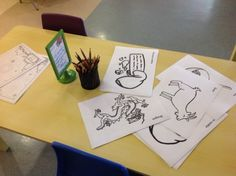 Older Nursery - Fine motor skills practice with a Chinese New Year theme.