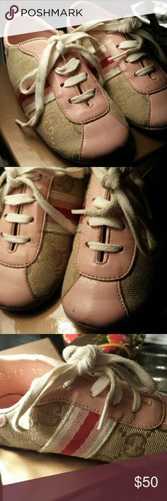 GUCCI BABY GIRL SHOES. Size 19 Italian. Gucci Shoes