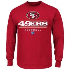 San Francisco 49ers Critical Victory Long Sleeve T-Shirt - Scarlet large