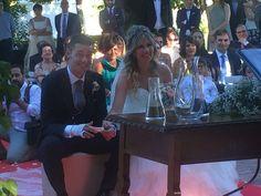 Este fin de semana celebraron su #boda en #FincaTorreMirahuerta Carol y Pepe, una pareja encantadora que nos deja palabras tan bonitas como éstas 😍😍http://bit.ly/2a1quPg