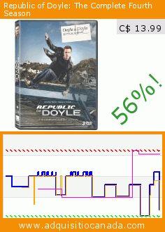 Republic of Doyle: The Complete Fourth Season (DVD). Drop 56%! Current price C$ 13.99, the previous price was C$ 31.99. https://www.adquisitiocanada.com/eone-films/republic-doyle-season-4