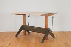 Vintage Hamilton Drafting Table | Homestead Seattle
