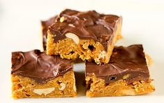 Peanut butter chocolate cornflake bars- 15 Mothers Day Treats and Sweets I Homemade Mothers Day Treats - ParentMap