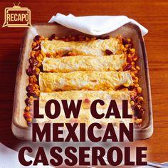 Dr Oz Healthy Casserole Cook-Off: Mexican Tortilla Casserole Recipe