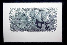 Avett Brothers NYE print (handmade by Scott Avett). I must own this!