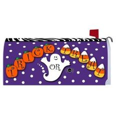Magnetic Mailbox Cover - Trick or Treat