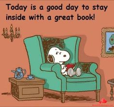 This is me almost every day unless someone mentions shopping or the beach. This is me almost every day unless someone mentions shopping or the beach. Images Snoopy, Snoopy Pictures, Charlie Brown Y Snoopy, Snoopy Love, Happy Snoopy, I Love Books, Good Books, Books To Read, Book Memes