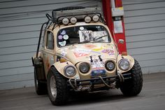 All terrain VW Baja Bug