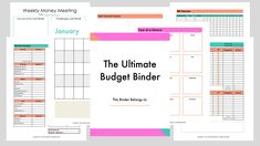 Free 25 Page Ultimate Budget Binder - Entrepreneurship + Money for Moms Monthly Budget Sheet, Budget Sheets, Budget Binder, Budget Planner, Planner Ideas, New Year's Eve Activities, Budgeting Process, Sinking Funds, Coupon Organization