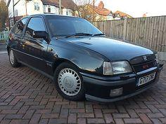 eBay: 1989 VAUXHALL ASTRA GTE 16V BLACK LONG MOT HISTORY FILE RECENT REBUILD RED TOP