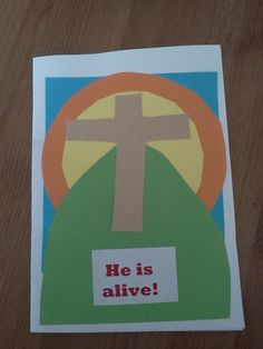 Flame: Creative Children's Ministry: Easter Cards