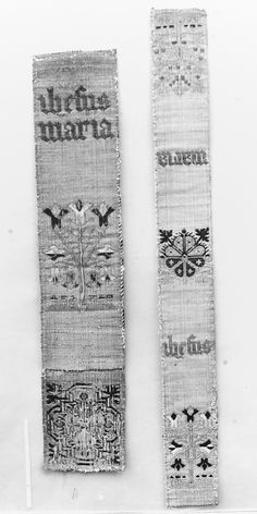 Date:      15th century  Geography:      Made in, Cologne, Germany  Culture:      German  Medium:      Silk, linen and metal thread
