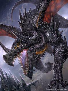 Black Dragon – fantasy concept by Choi tae hyun Mythological Creatures, Fantasy Creatures, Mythical Creatures, Dark Fantasy, Fantasy Art, Cool Dragons, Dragon Artwork, Dragon Pictures, Desenho Tattoo
