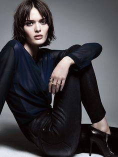 """Sam Rollinson pour les """"Little Black Jeans"""" de J Brand x Selfridges http://www.vogue.fr/mode/news-mode/diaporama/les-little-black-jeans-de-j-brand-pour-selfridges/13895"""