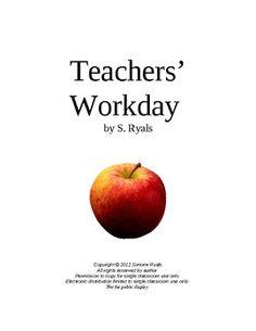 FREE Teachers' Workday Script Drama Club Readers' Theater
