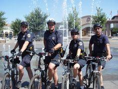 Bike patrol!