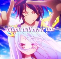 Sora and Shiro - No Game No Life